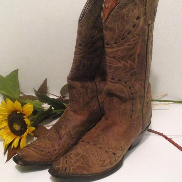 3d0c064cb59 Dan Post Cowgirl Snip Toe Boots